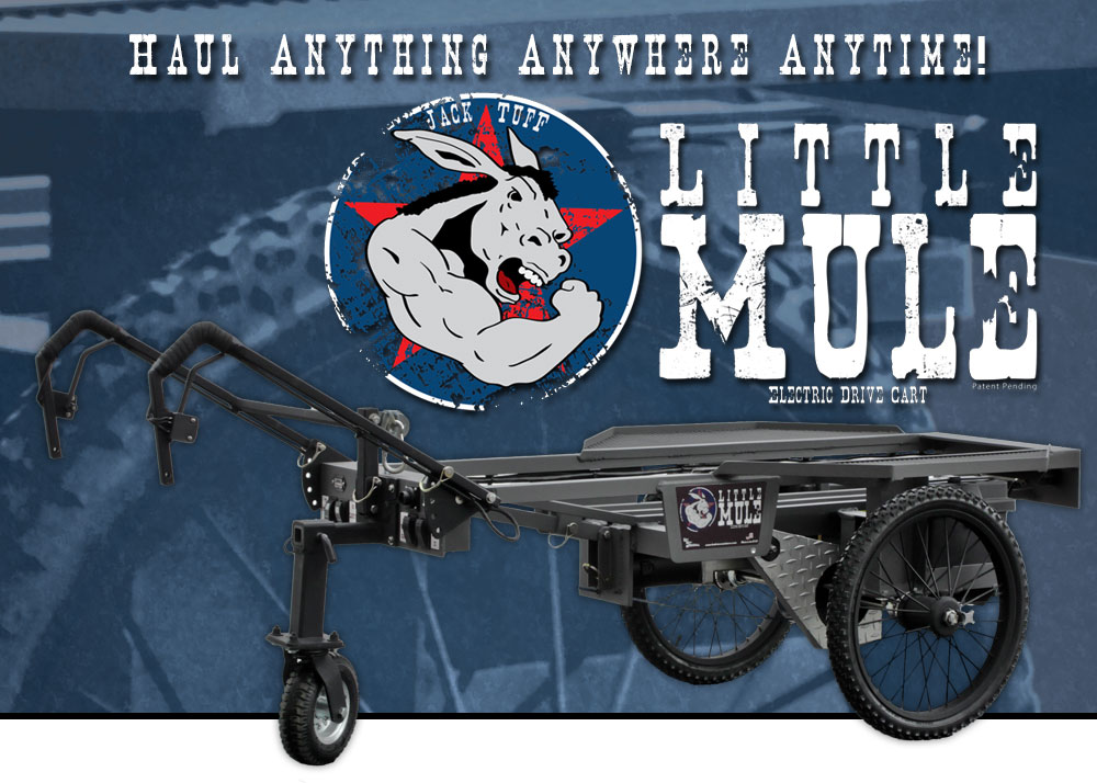 Little Mule Electric Drive Cart