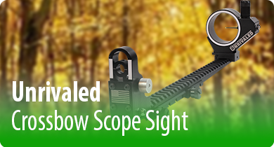 Unrivaled Crossbow Scope Sight.